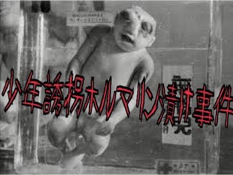 【怖すぎ!】少年誘拐ホルマリン漬け事件