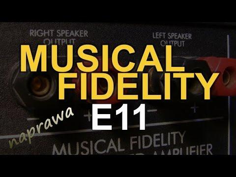 Musical Fidelity E11 [Reduktor Szumu] #141