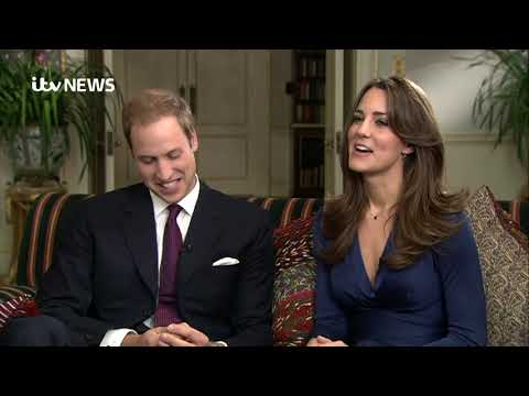 In full: William and Kate's 2010 engagement interview   ITV News