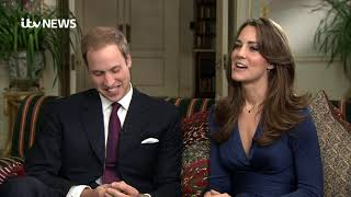 In full: William and Kate's 2010 engagement interview | ITV News