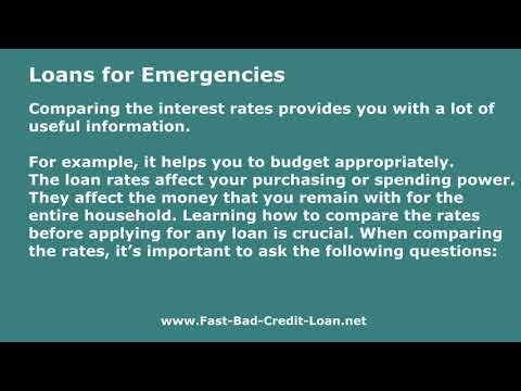 How Can One Compare Interest Rates For $1000 Dollar Loans?