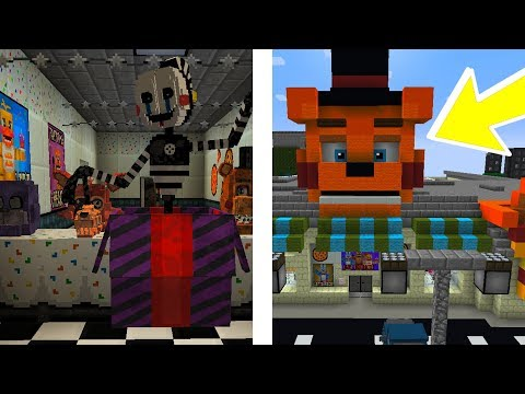 BEST FNAF MOD IN MINECRAFT ?! | Minecraft FNAF Mod, Map, Resource Pack Showcase