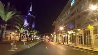 Rabat Drive by Night - The Lights city