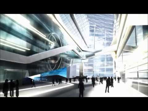 Концепт интерьеров Лахта Центра от дизайн-бюро Exclusiva