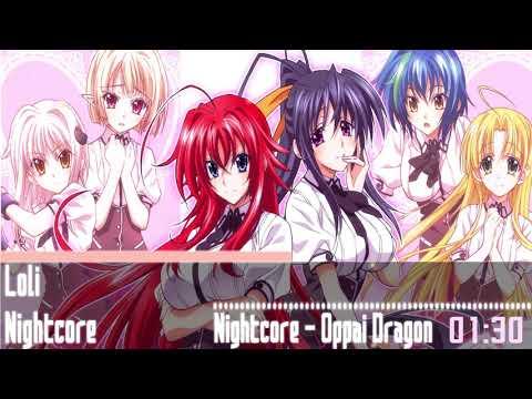 Nightcore - High School DxD BorN OST Oppai Dragon Song