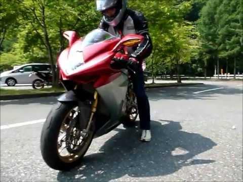 2012 July MV Agusta F3 Serie Oro RUN in Japan