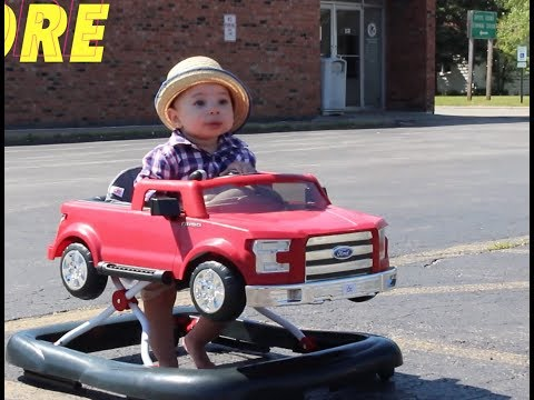 FORD F150 3 IN 1 WALKER REVIEW + BABIES ROAD TRIP
