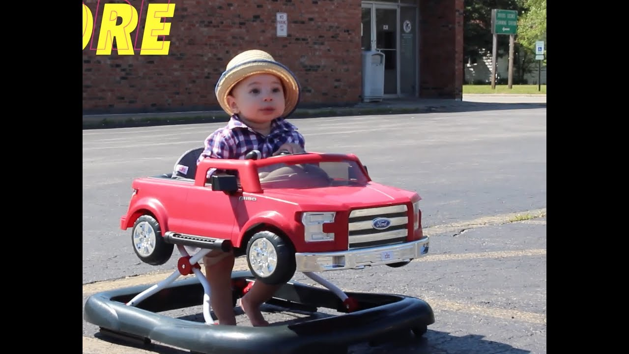 Ford F150 3 In 1 Walker Review Babies Road Trip Youtube