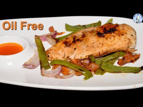 Oil Free Chicken with Vegetables | Diet Dinner Recipe | Low Calorie Recipes for weight loss