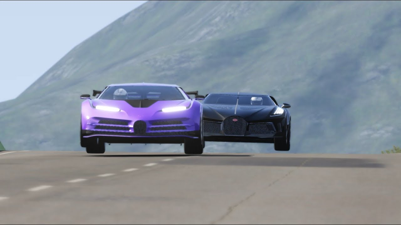 Bugatti La Voiture Noire vs Bugatti Centodieci at Highlands