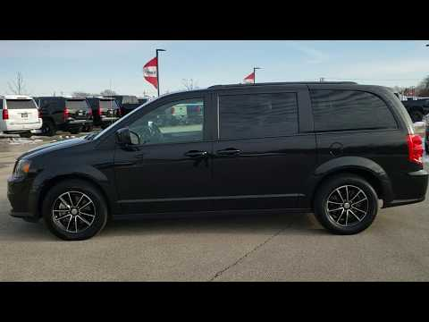 SOLD! 10384 2018 DODGE GRAND CARAVAN GT MINIVAN WALK AROUND REVIEW ONYX BLACK www.SUMMITAUTO.com