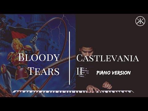 Bloody Tears - Castlevania 2 - Romantic Piano Cover (Gmin)