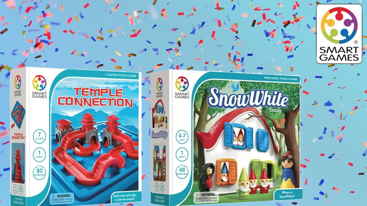 Smart Games Snow White Temple Connection Games Youtube
