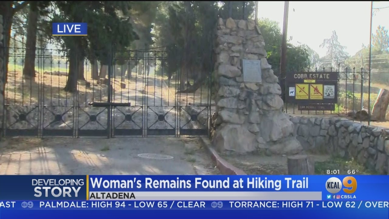 Woman's Remains Found Near Altadena Hiking Trail