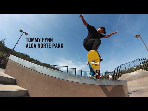 Tommy Fynn shredding Carlsbad park