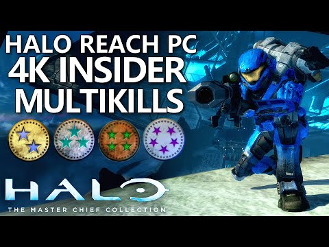 Halo Reach Mcc Pc 4k Multikills Halo Masterchief Collection