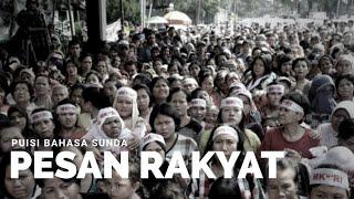 Download Video RAKYAT TEU BUTUH SARARIA !!! [LAINPUISI BAHASA SUNDA] MP3 3GP MP4