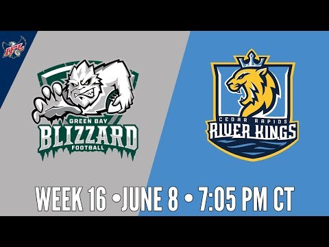 IFL Week 16 | Green Bay Blizzard at Cedar Rapids River Kings