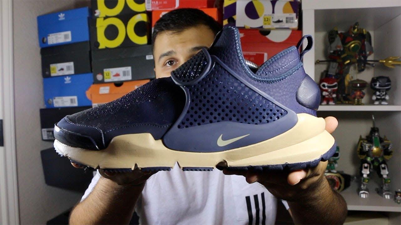 928dc95984c Nike X Stone Island Sock Dart Mid Obsidian Review! - YouTube