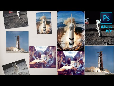 Photoshop Basics #18: Recortar Y Enderezar Fotografías Automáticamente