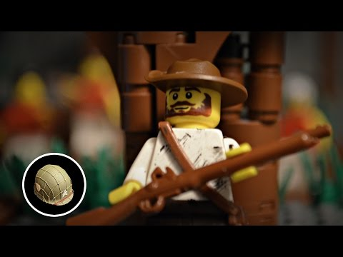 Lego: AMERICAN REVOLUTIONARY WAR | BRICKFILM