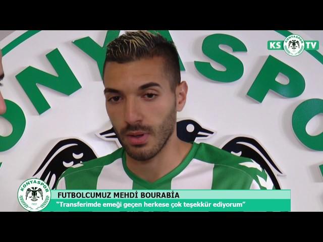 Mehdi Bourabia Atiker Konyaspor'umuzda!