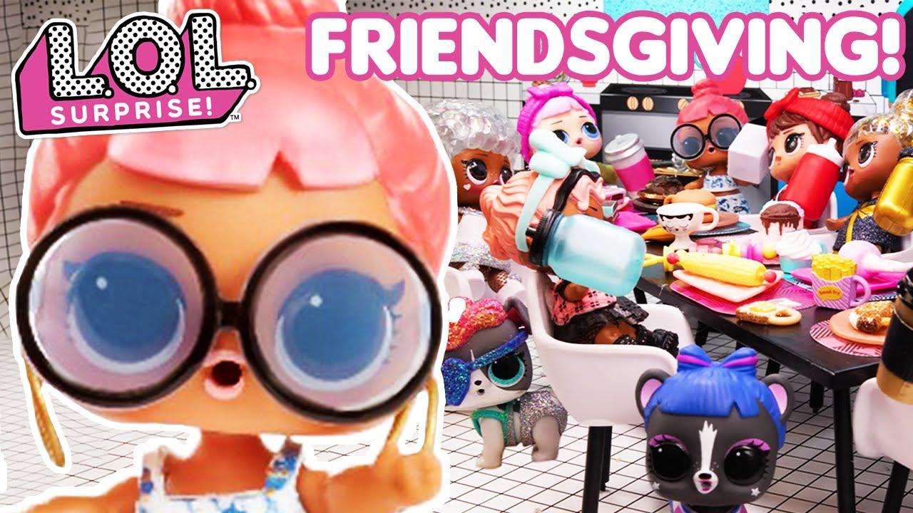 Fun at Friendsgiving! | LOL Surprise Stop Motion