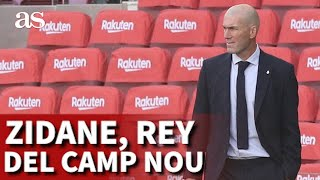 Zidane en el Camp Nou: el dominio absoluto que escuece y mucho en Barcelona… | Diario AS
