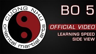 Cuong Nhu Bo 5 - Official Kata - Learning Speed - Side View