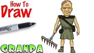 How to Draw Granpa