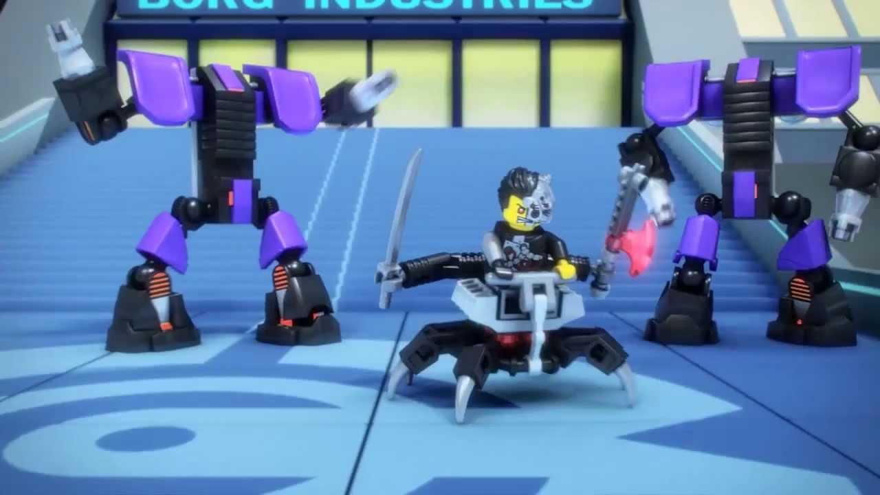 lego ninjago 70722 overborg attack lego 3d review