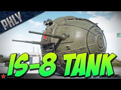IS-8 TANK - MOON BATTLE - (World Of Tanks April Fools Gameplay)