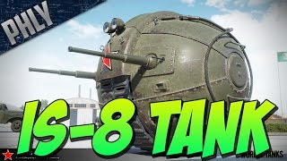 IS-8 TANK - MOON BATTLE - (World Of Tanks April Fools Gameplay)