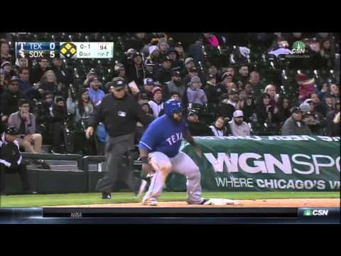 Rangers at White Sox - Triple Play