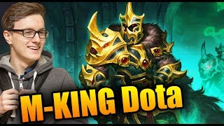 The TRUE KING Of Dota - Miracle- [Wraith King] Dota 2