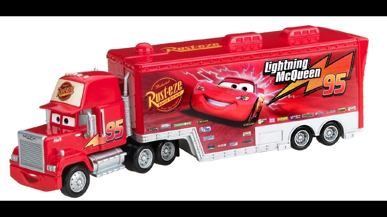 camion mack disney cars pixar disney camiones juguetes para ni os youtube. Black Bedroom Furniture Sets. Home Design Ideas