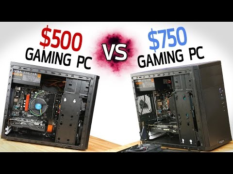 $500 Gaming PC vs $750 Gaming PC!