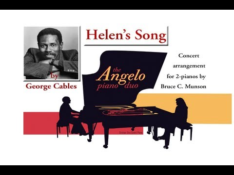 "Angelo Piano Duo ""Helen's Song"" George Cables / Br..."