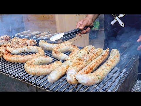 Вкусный сочный кебаб без шампуров на мангале! Как приготовить лаваш по-армянски на мангале
