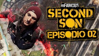 Infamous Second Son - PS4 - Escalando el space needle EP 2