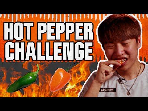 SPICY PEPPER CHALLENGE... ARCHITECT
