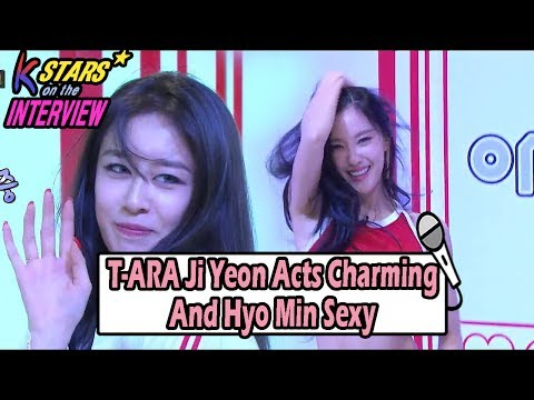 [CONTACT INTERVIEW★] Ji Yeon Acts Charming And Hyo Min Sexy 20170618