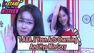 [CONTACT INTERVIEW☆] Ji Yeon Acts Charming And Hyo Min Se ▷ Playlis...