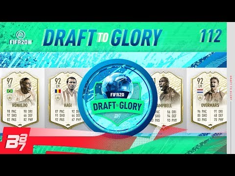 PRIME MOMENTS RONALDO! MY BEST DRAFT EVER!   FIFA 20 DRAFT TO GLORY #112