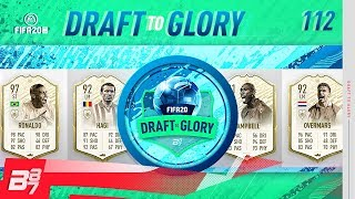 PRIME MOMENTS RONALDO! MY BEST DRAFT EVER! | FIFA 20 DRAFT TO GLORY #112