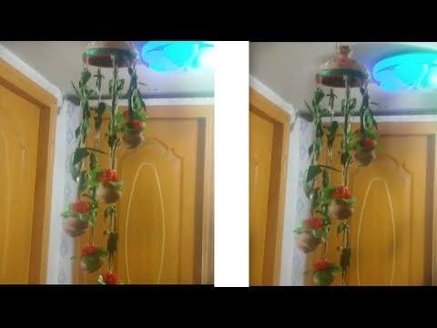 DIY Amazing wind chime craft idea. Home decor craft.
