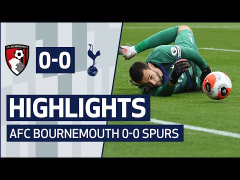 HIGHLIGHTS | AFC BOURNEMOUTH 0-0 SPURS