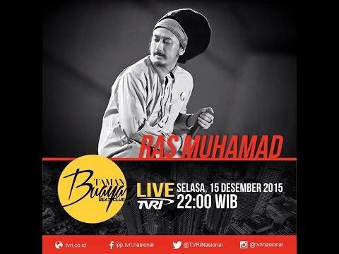 MUSIK REGGAE INI - RAS MUHAMAD - Taman Buaya Beat Club TVRI - 15 Desember 2015