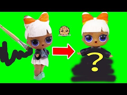 LOL Surprise Big Sister Makeover DIY Halloween Painting Custom Video