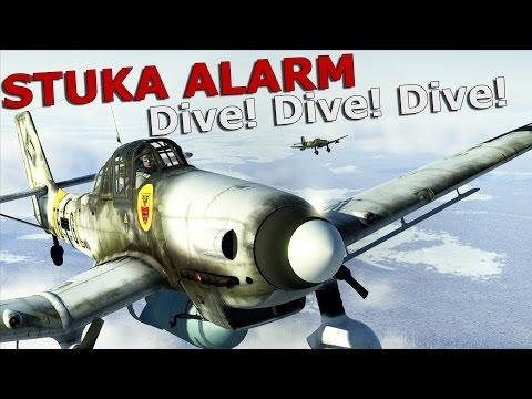 ⚜ |  IL-2: Battle of Stalingrad - Stuka Alarm: Dive! Dive! Dive!